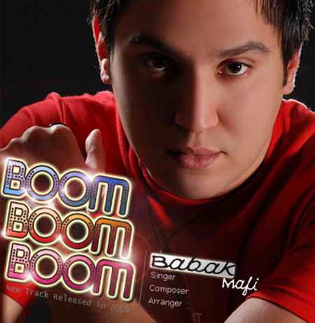 دانلود آهنگ بابک مافی بوم بوم Babak Mafi - Boom Boom