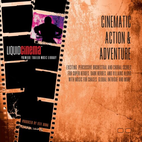 آلبوم لیکوئید سینما Liquid Cinema - Cinematic Action & Adventure