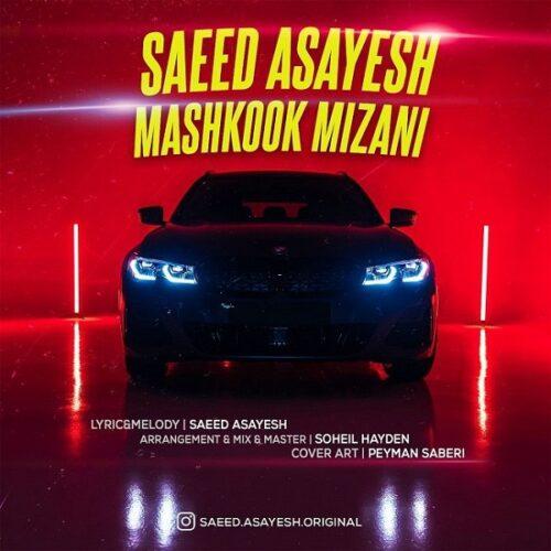 دانلود آهنگ جدید سعید آسایش مشکوک میزنی Saeed Asayesh - Mashkook Mizani