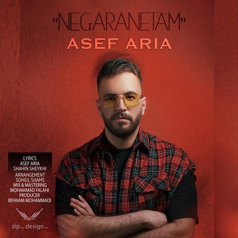 دانلود آهنگ جدید آصف آریا نگرانتم Asef Aria - Negaranetam